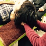 頭蓋骨セミナー3回目。呼吸がスムーズになり、体の緊張が楽に