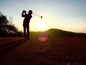 ゴルフでの腰痛