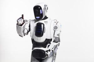 ロボットの外観が解剖学